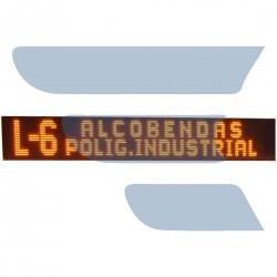 ECUREPAIR.PT - MÓDULO PROGRAMADOR DE LINHAS BANDEIRA LED BKB ELECTRONICA